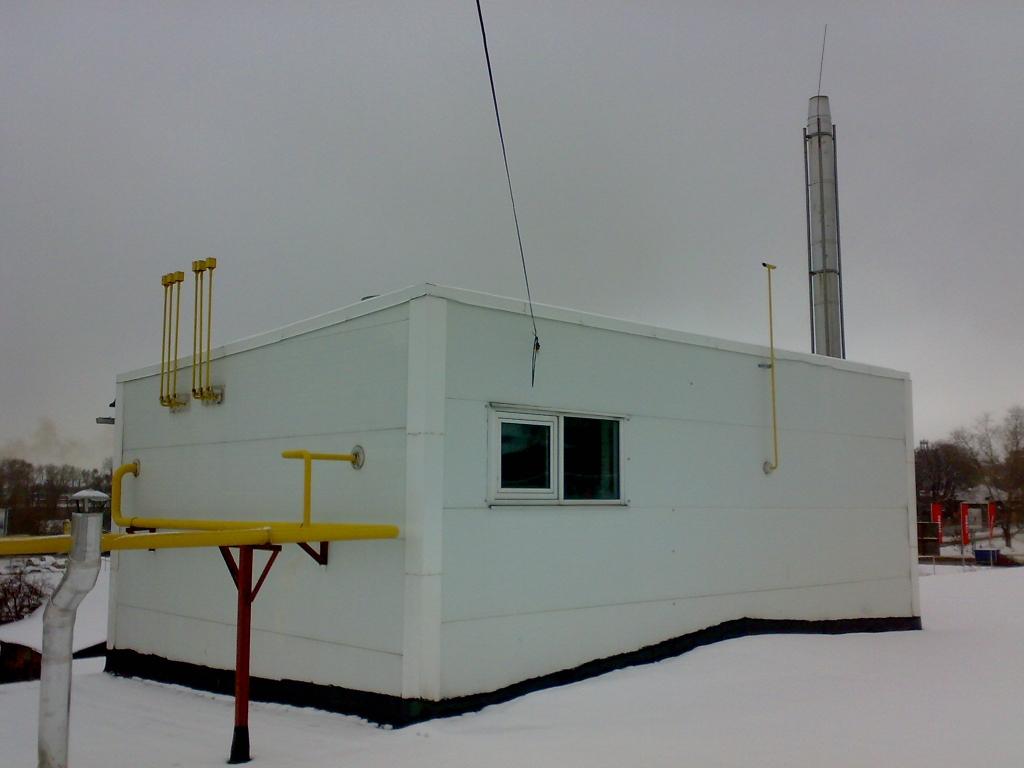 как выполнить молниезащиту крышной газовой котельной